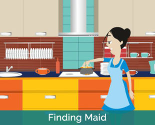 Maid on sudden leave?? Use SOCYTEA to explore alternatives nearby...