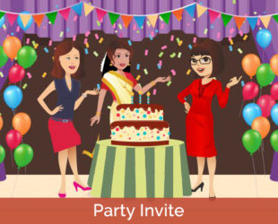 Planning for Birthday or Get Together, whatever may be occasion book society party hall and also send private invitation to selected members digitally